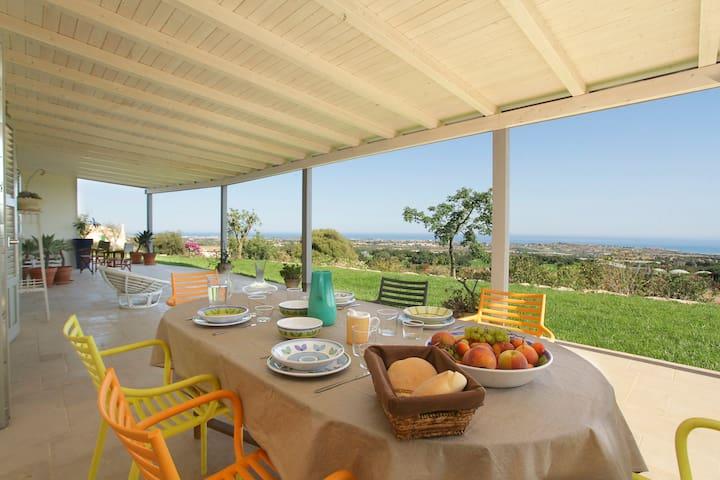 NEW Dimora di charme con vista mare - Sampieri - Villa