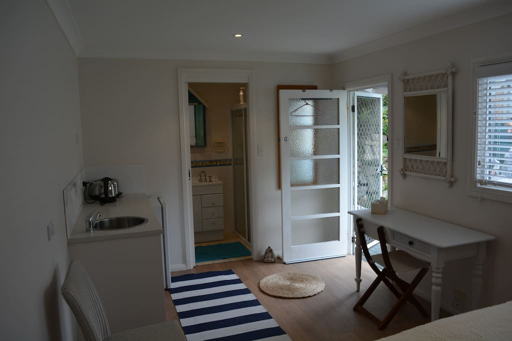 Fridge, tea & coffee facilities, and ensuite for guests
