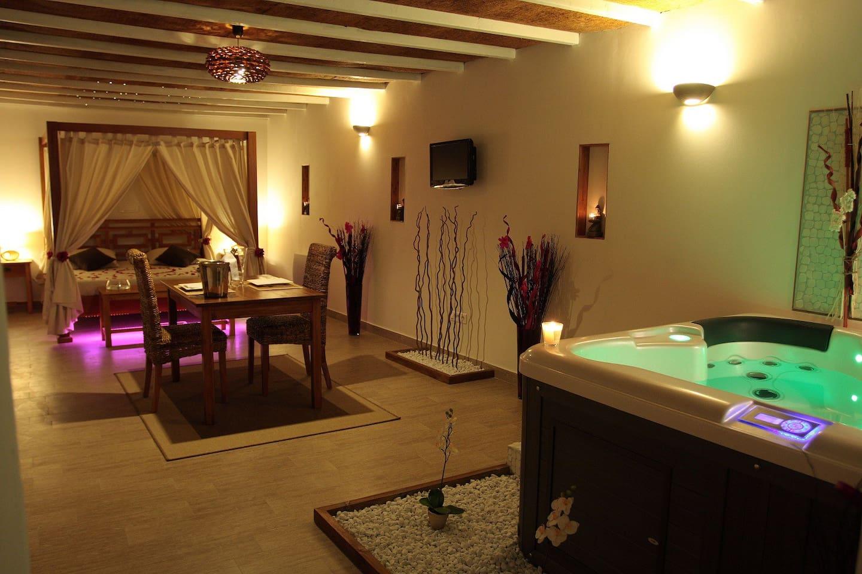 suite maldives jacuzzi et sauna privatif