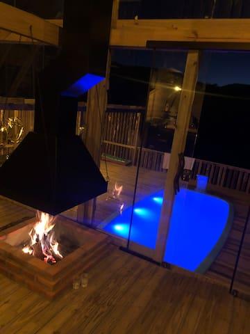 Casa de campo Schuller! C/ piscina aquecida!