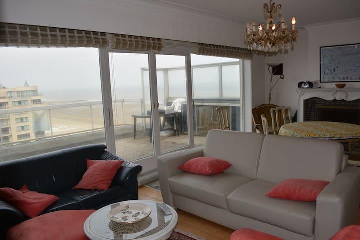 Penthousewohnung direkt am Meer - Middelkerke - Appartement