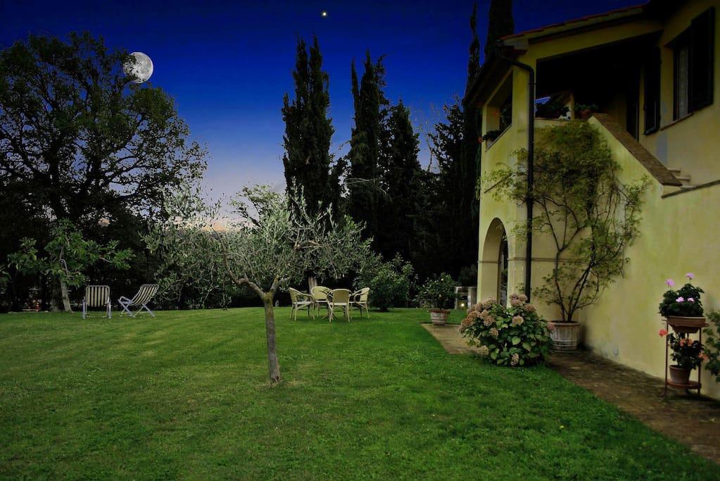 Notte con la luna