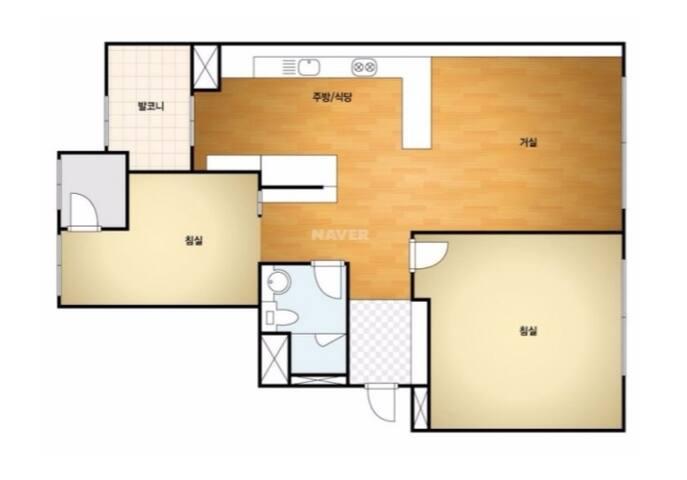 21평 새 아파트 전체