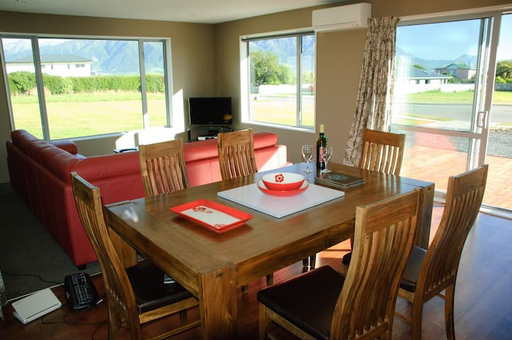 Kaikoura Peninsula Holiday House - Kaikoura - Dom