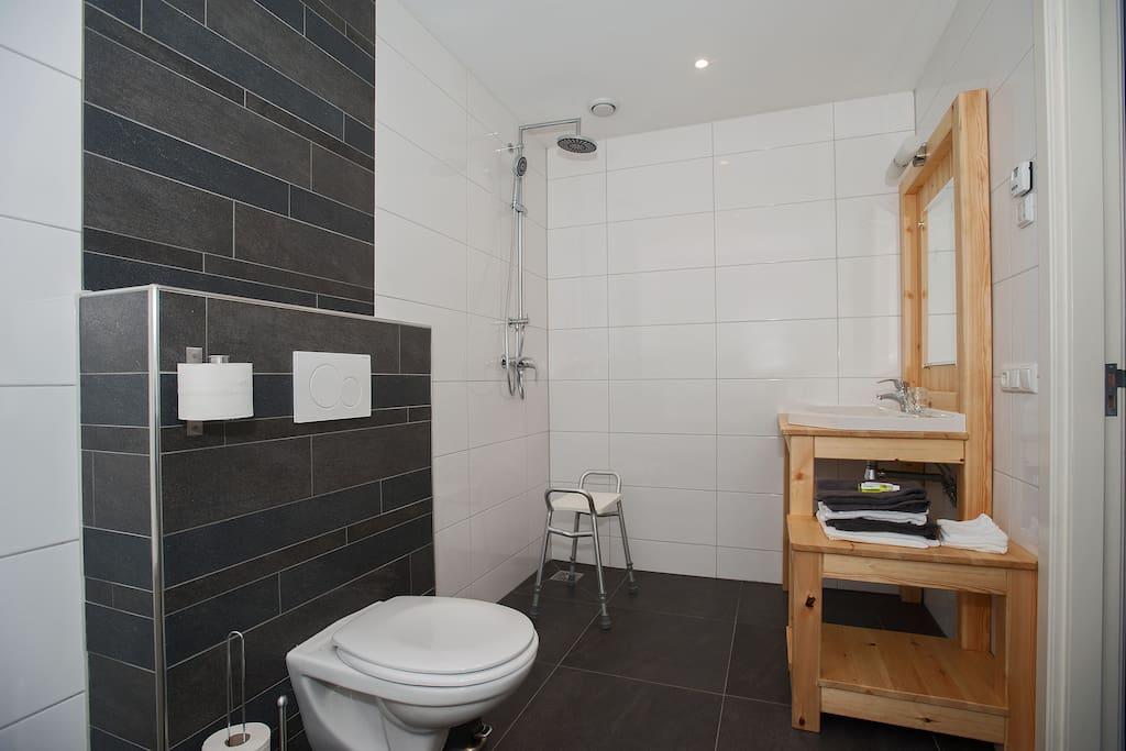 de badkamer ook geschikt voor minder valide mensen