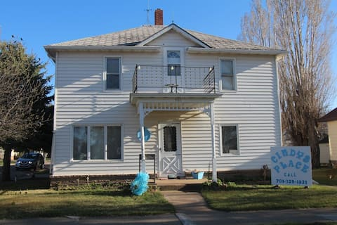 Lodging 3 Bedroom Older Style Home upstairs.