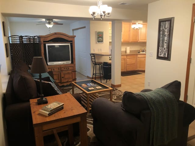Well-equipped basement apartment in Fort Collins