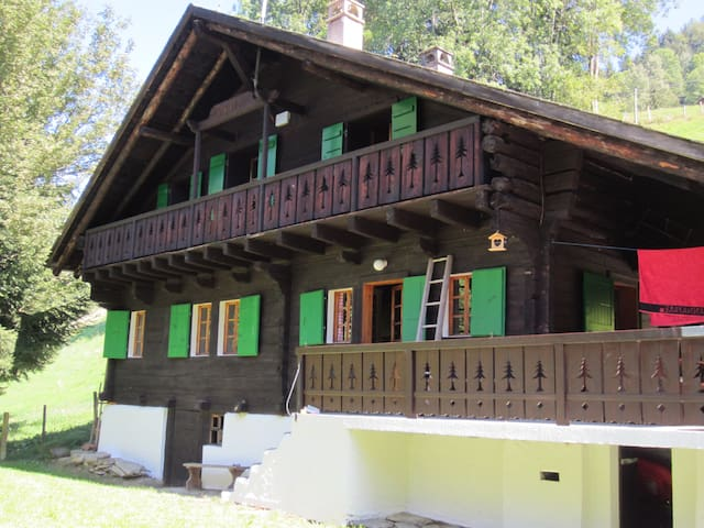 Beautiful 18th century Swiss chalet - Val-d'Illiez - Chalet