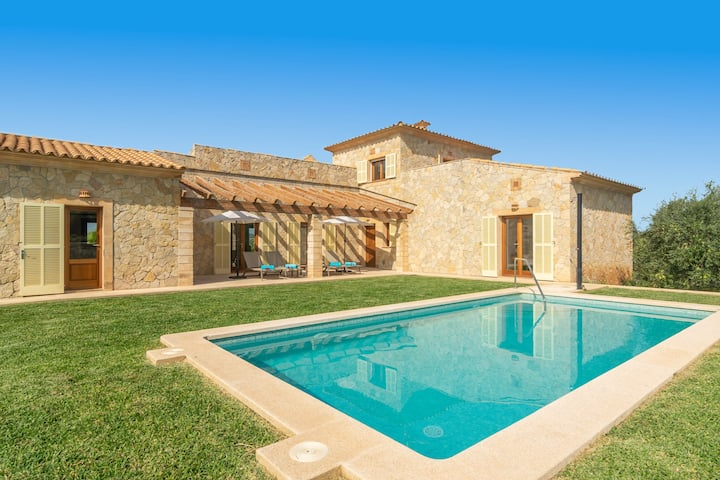 FETGET-CAN BOSCO - Nice country house with private pool close to the beach. Free WiFi