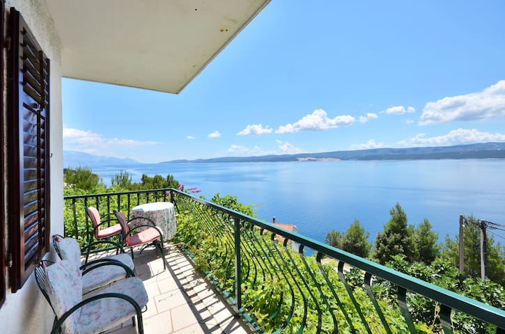 Stanici panoramic sea view, 2DB, parking, grill... -  Omis  - Apartment