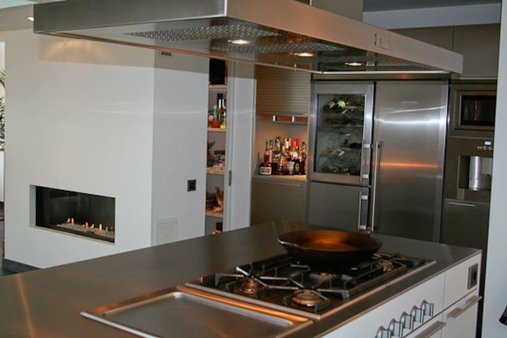 Moderne keuken van alle gemak voorzien