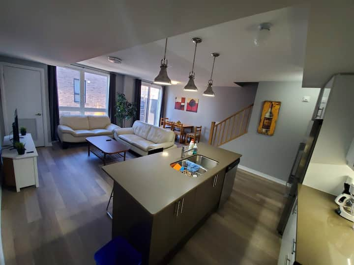 New classy apartment finished to highest standards