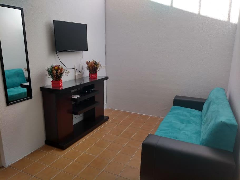 SALA DE TV CON NETFLIX