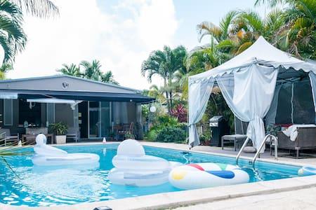 Prvt Rm/Bath+Heated Salt Water Pool - House