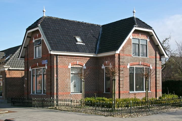 Karakteristiek herenhuis Friesland - Kollum - Haus