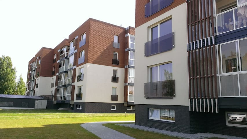 cozy, new built apartment with forest view - Palanga - Apartment