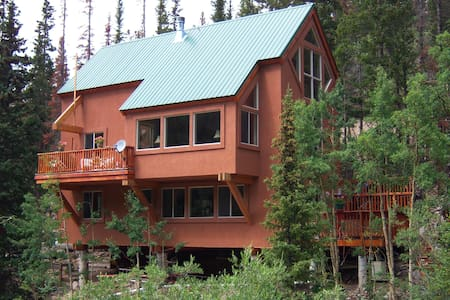 '6 Trees' Mountain Retreat - Silver Plume - Stuga