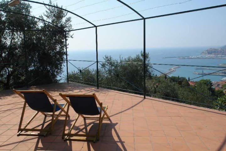Small villa Large terrace Stunning view