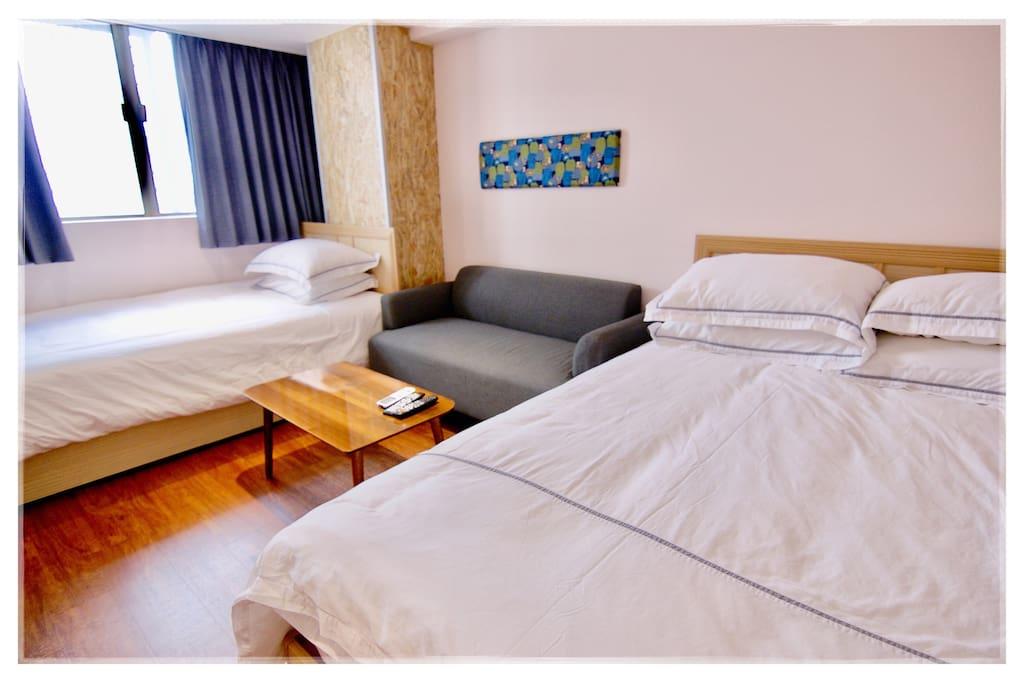 飯店級床墊雙枕