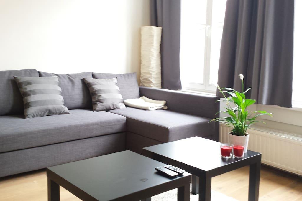 Modern flat @ Antwerp hotspot!WI-FI