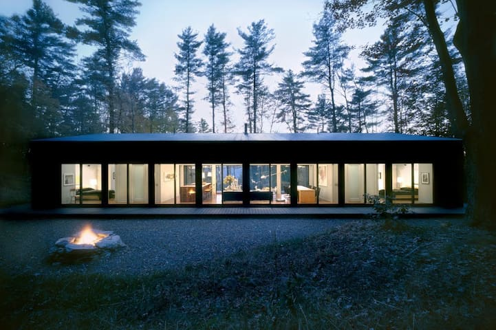 Glass Cabin in the Woods - Hillsdale - Cabane