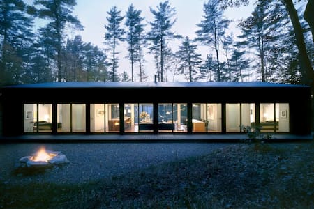 Glass Cabin in the Woods - Hillsdale