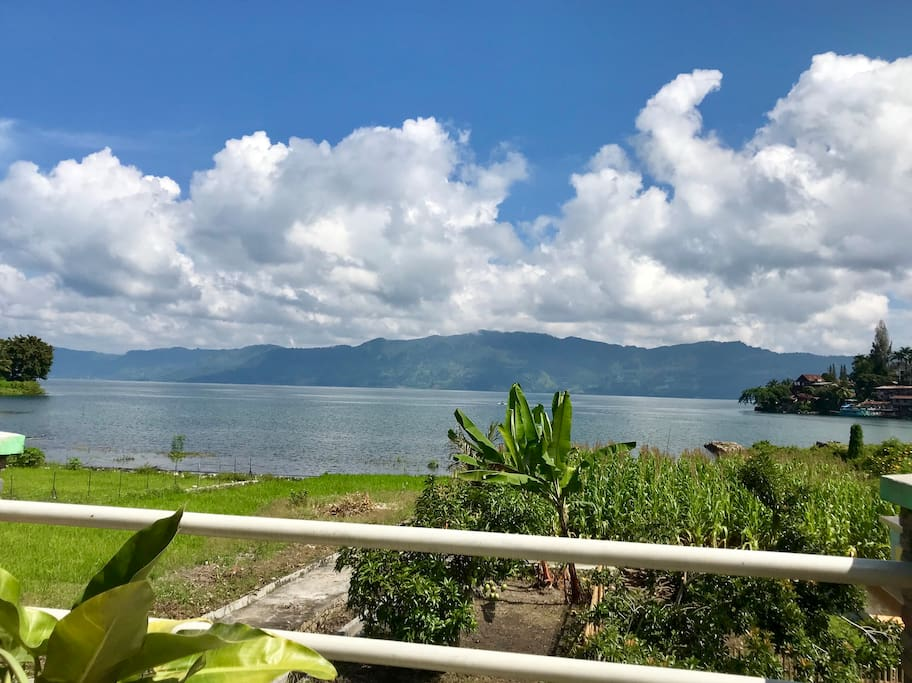 1st floor terrace, Lake Toba View