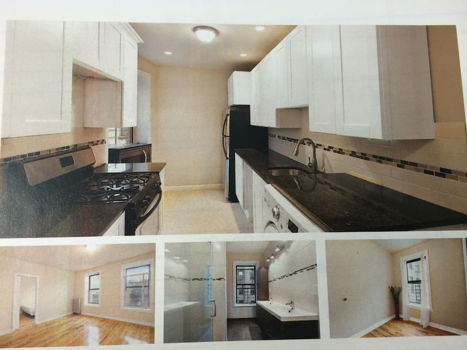Renovated 3 bedroom 2 bath apartment.