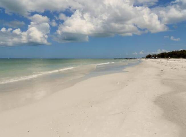 Seven miles of gorgeous beaches!