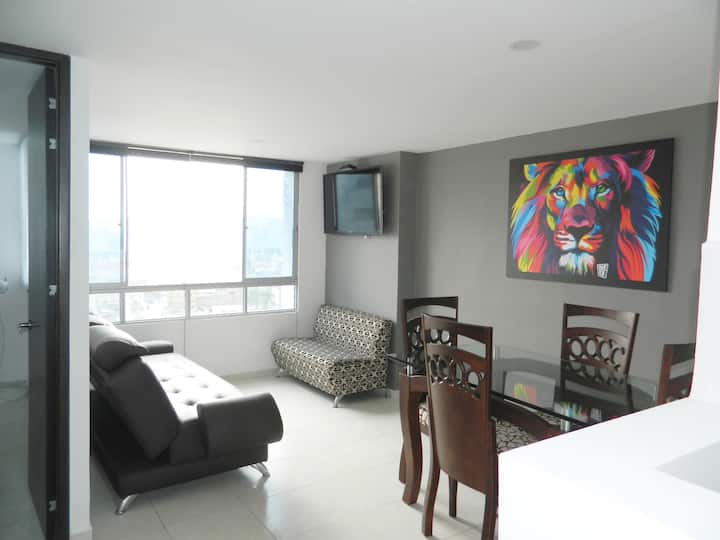 Bright and Fresh Apartament with Amazing view