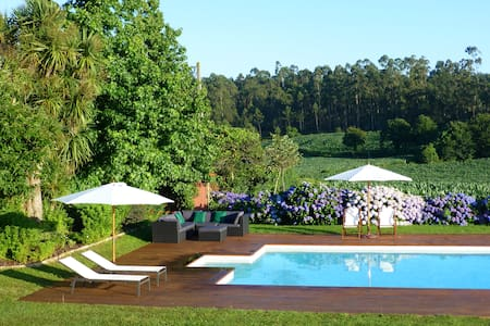 House in the country with pool - Balazar