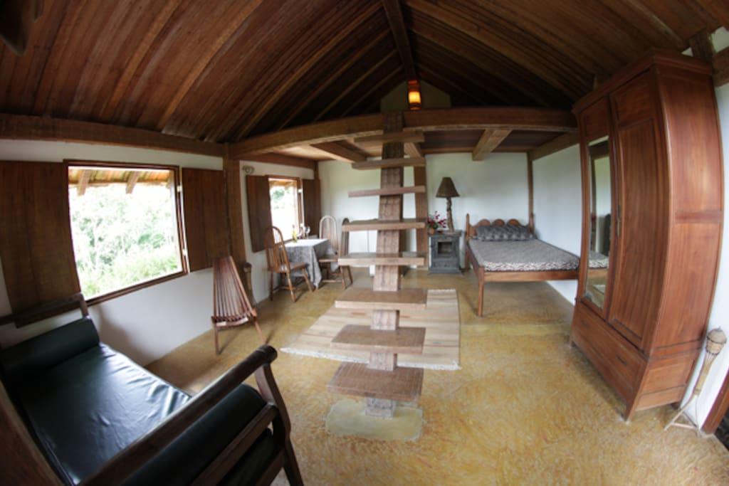 Toucans Chalets Loft - Single bed