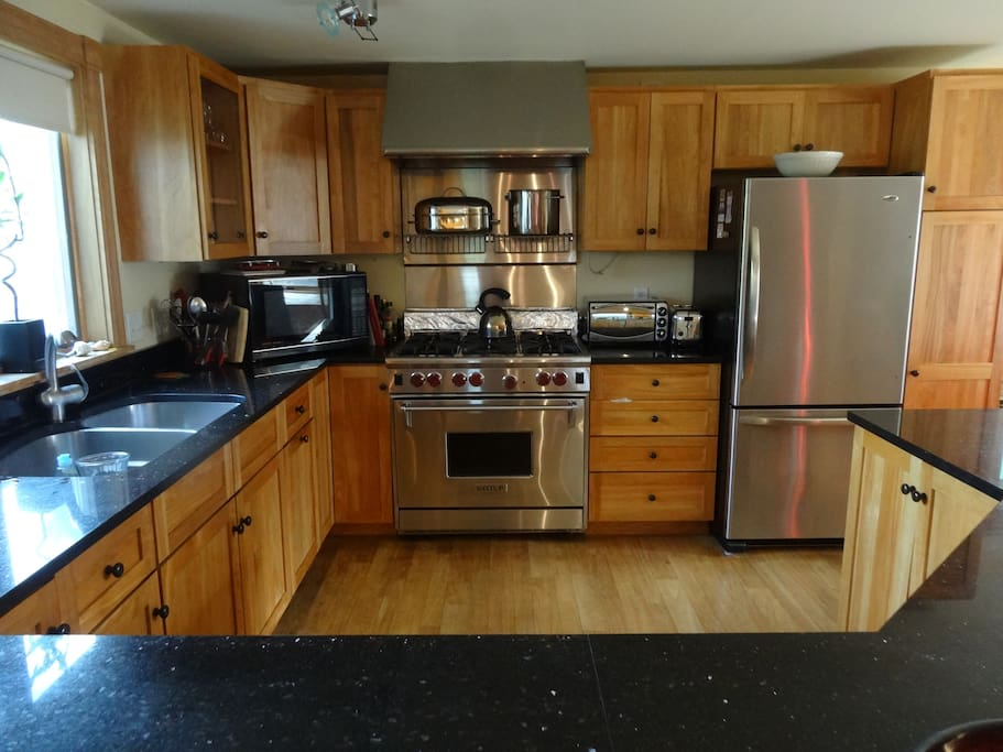 If you enjoy cooking you will love this kitchen with most any chef tools you will need!