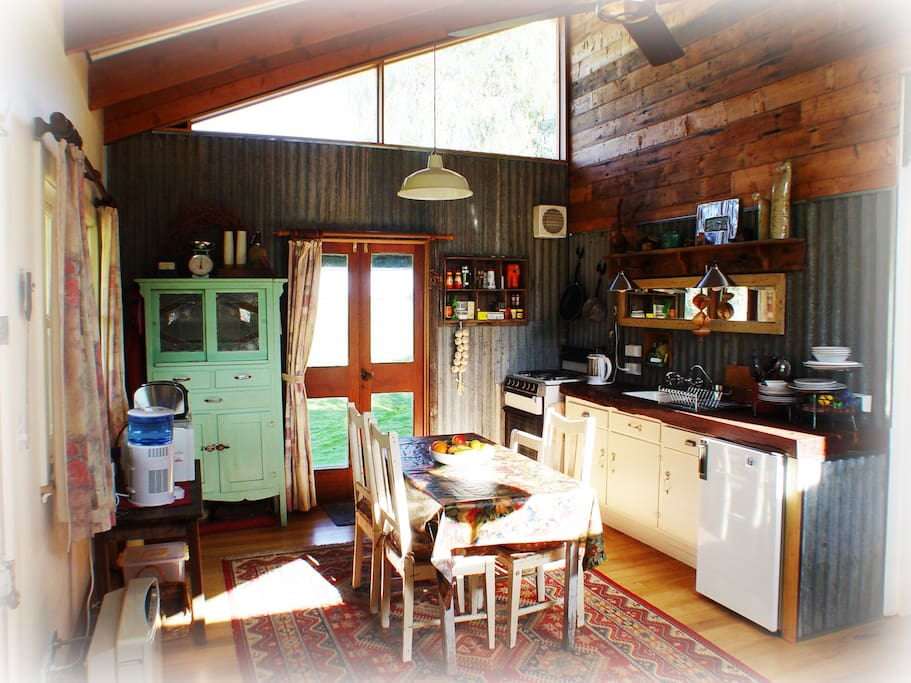 Rustic and homely interior