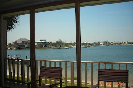 Beach & Bay Waterfront Townhouse - Pensacola Beach