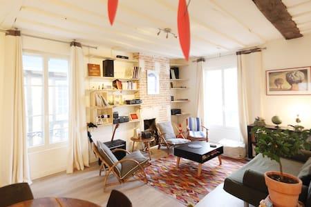 Appartement XVIIIème, Les Halles. - Tours - Wohnung