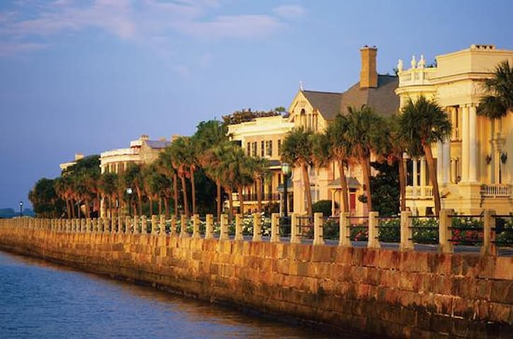 Best location to visit Charleston.