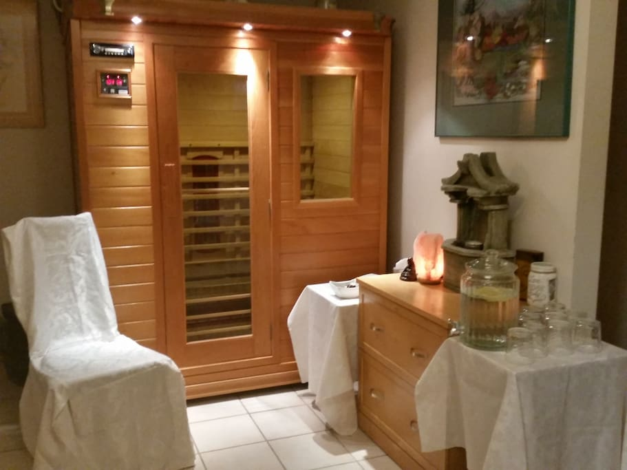 Infrared Sauna for your use