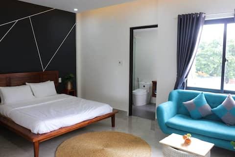 The Starfruit Villa black&white room