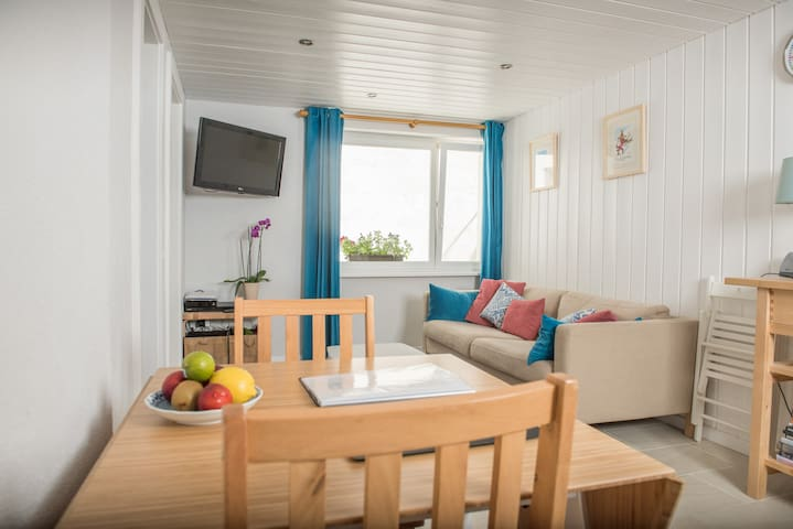 A modern 1 bedroom flat in Zermatt - Zermatt - Leilighet