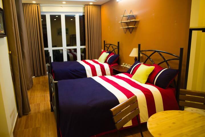 Tiny&Tom House® Charming Bedroom with Balcony