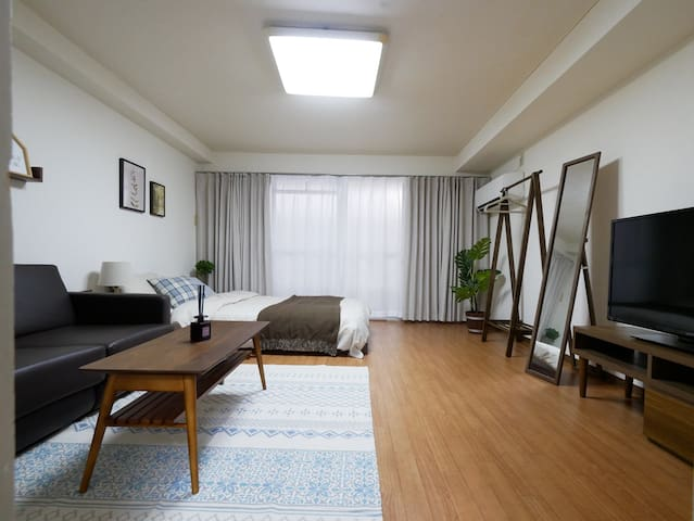 Sakura Shinsaibashi Residence 50A no cleaning fee*
