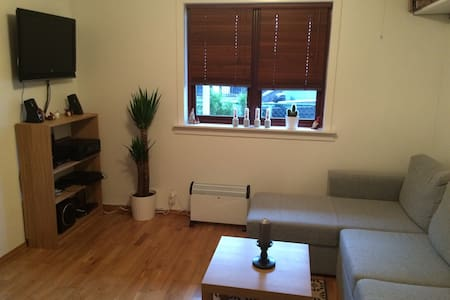 Nice 2-room apartment with terrace - Bergen