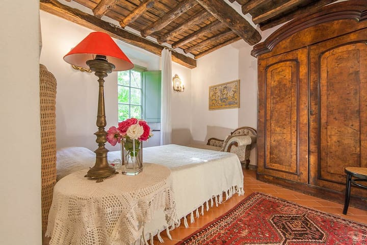 Queen size Room with garden view in Chianti
