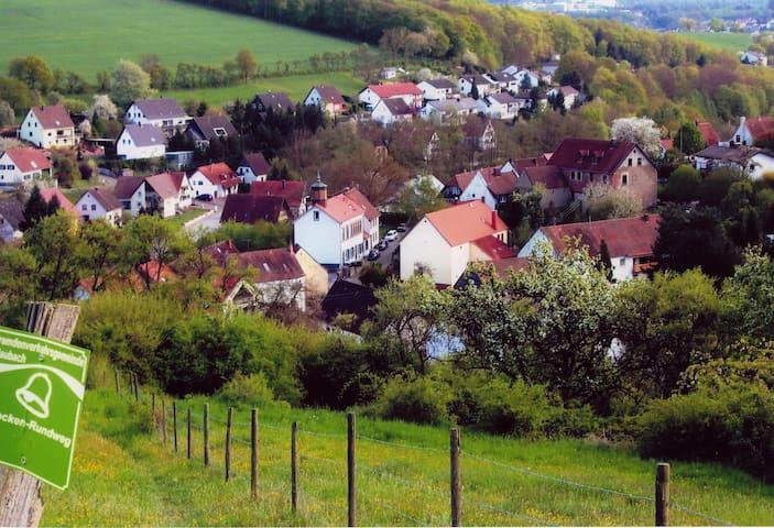 Ortslage Blaubach, Foto von J. Stirnemann