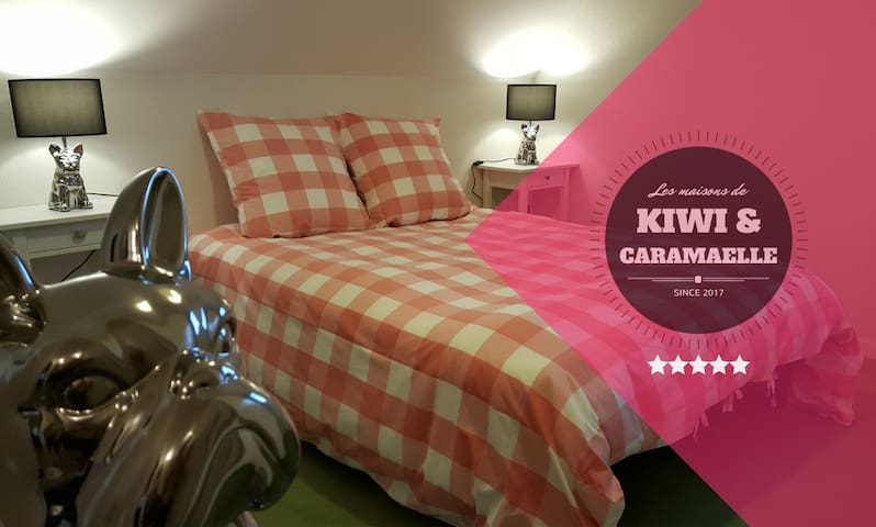"""""""Doggy Room"""" - Les Chambres de Kiwi et Caramaëlle - La Rivière-Saint-Sauveur - Casa"""