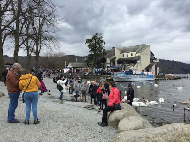 Bowness on Windermere 15 minutes by bus