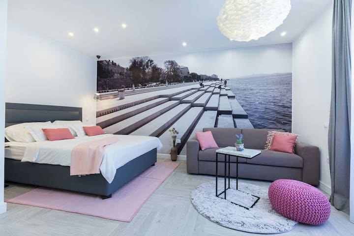 Unique apartment