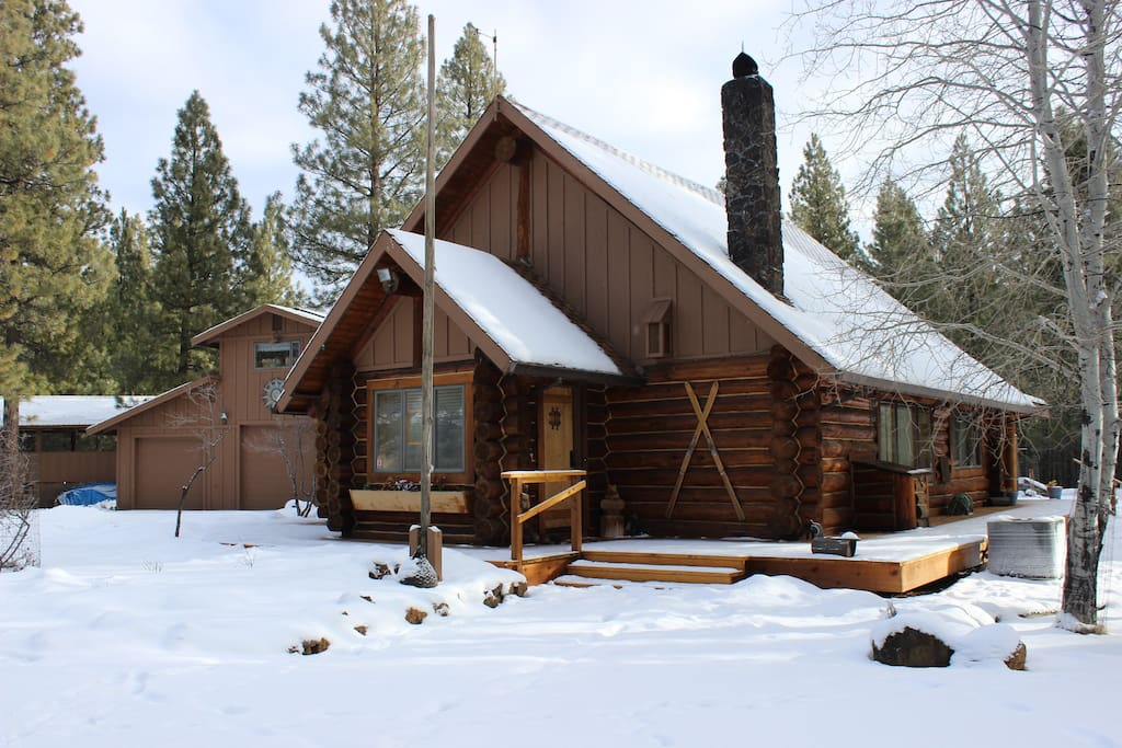 In winter guests can see up to 8 inches of snow