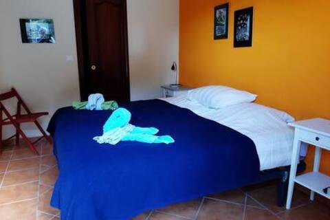 Finca room El Naranjo in Canillas de Albaida